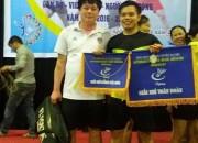 Giải nhì toàn đoàn giải cầu lông LĐLĐ